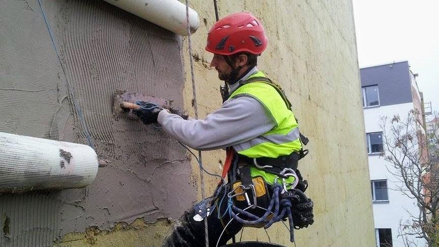 výškové zednické a fasádnické práce